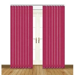 Unilux Flamingo blackout PVC vertical blind