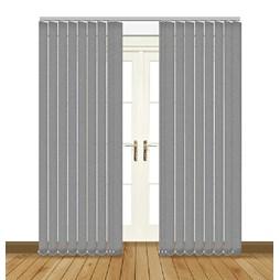 Unilux Granite blackout PVC vertical blind