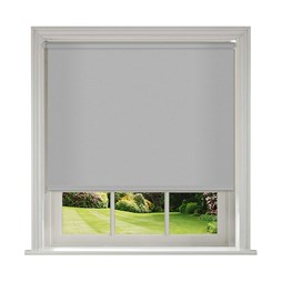 Unilux Grey blackout PVC roller blinds