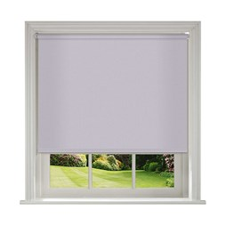 Unilux Lilac blackout PVC roller blinds