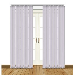 Unilux blackout PVC vertical blinds