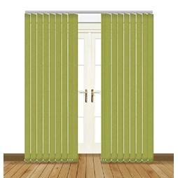 Unilux Lime blackout PVC vertical blind
