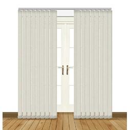 Unilux Linen blackout PVC vertical blind