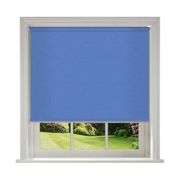 Unilux Surf blue blackout PVC roller blinds