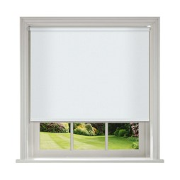Unilux White blackout PVC roller blinds