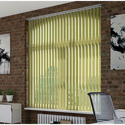 V120 Motorised Headrail with Guardian Vertical Blinds