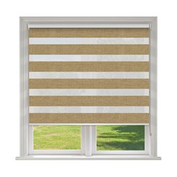 Verona Brass Vision Blind | Contemporary Day & Night Blind