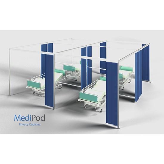 MediPod - Freestanding Quadrant Large 3x3m