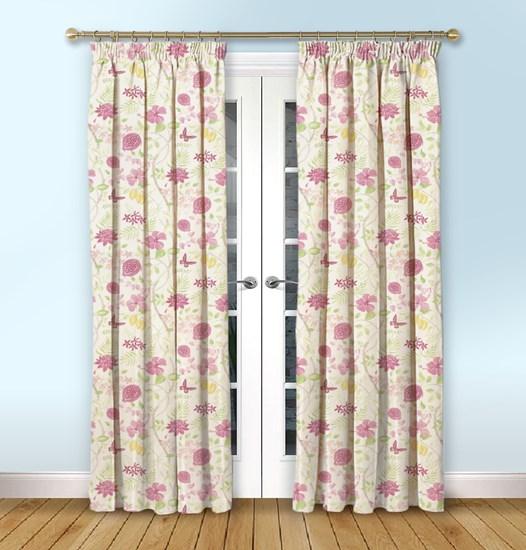 Amazon Fuchsia Curtain