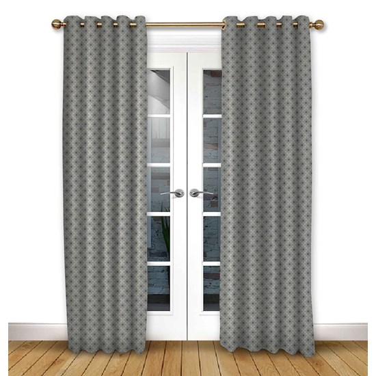 Arley Flint Eyelet Curtains