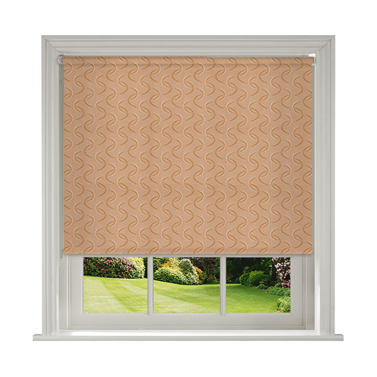 Aura Copper Roller Blind