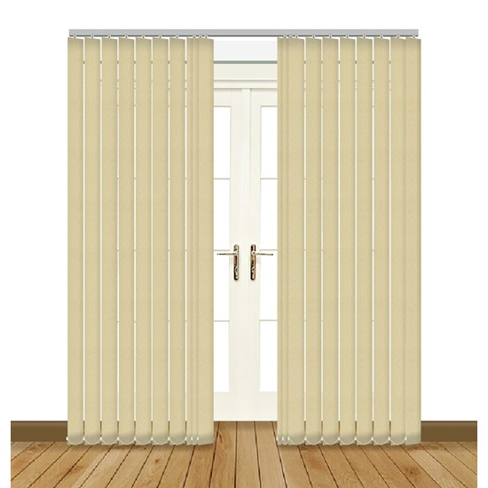 Aura Cream Vertical Blind