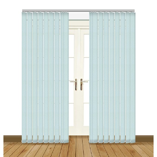 Aura Ice Blue Vertical Blind