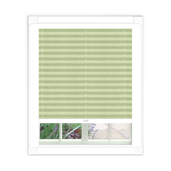Aura Emerald Perfect Fit Pleated Blind