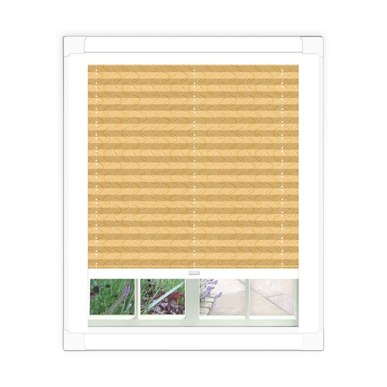 Aura Gold Perfect Fit Pleated Blind
