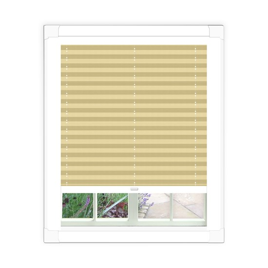 Basix Calico Perfect Fit Pleated Blind
