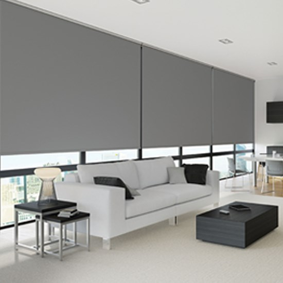 R200s Standard Roller System with Carnival B/O Blinds