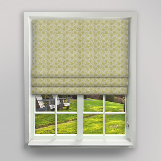 Chantilly Willow Roman Blind
