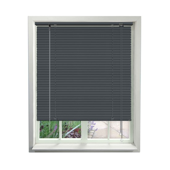 Cool Grey Aluminium Venetian Blind