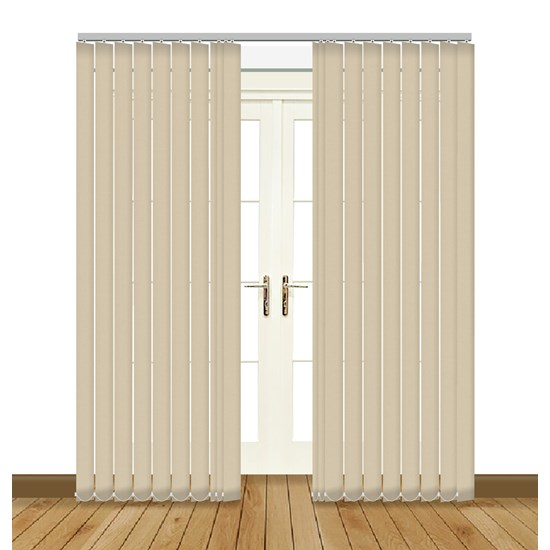 Banlight Duo Angora Vertical Blind