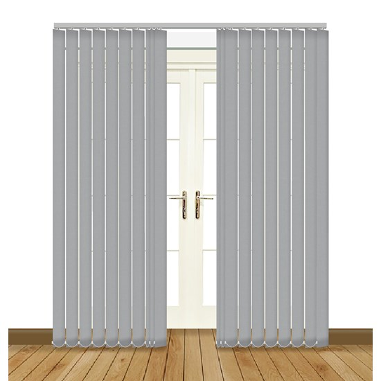 Banlight Duo Grey Vertical Blind