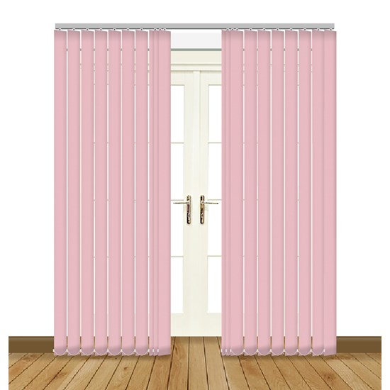 Banlight Duo Pink Vertical Blind