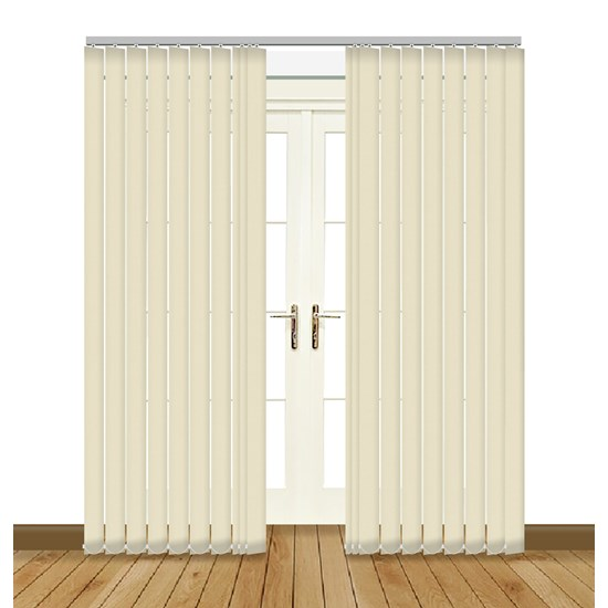 Banlight Duo Vanilla Vertical Blind