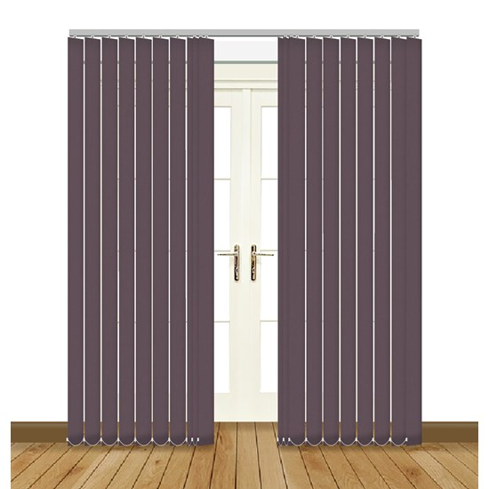 Banlight Duo Zinc Vertical Blind