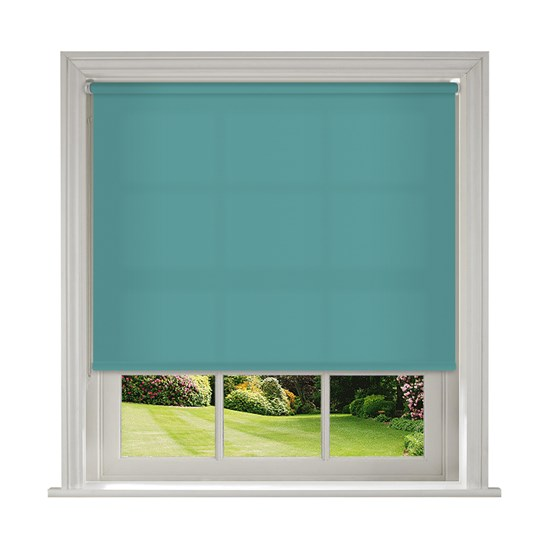 Banlight Duo Turquoise Roller Blind