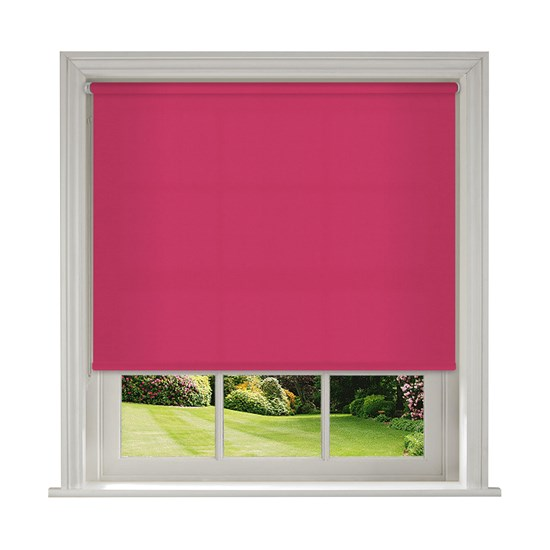 Banlight Duo Fuschia Roller Blind