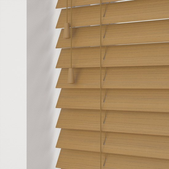 Desert Oak Faux Wood Venetian Blind