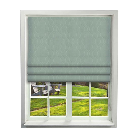 Harlington Duck Egg Roman Blind