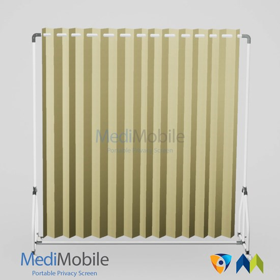 Eyelet Bali Sand Microban Curtain