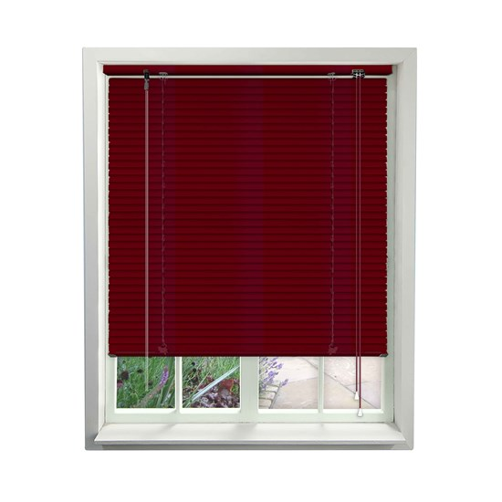 Aluminium Venetians - Primary Red