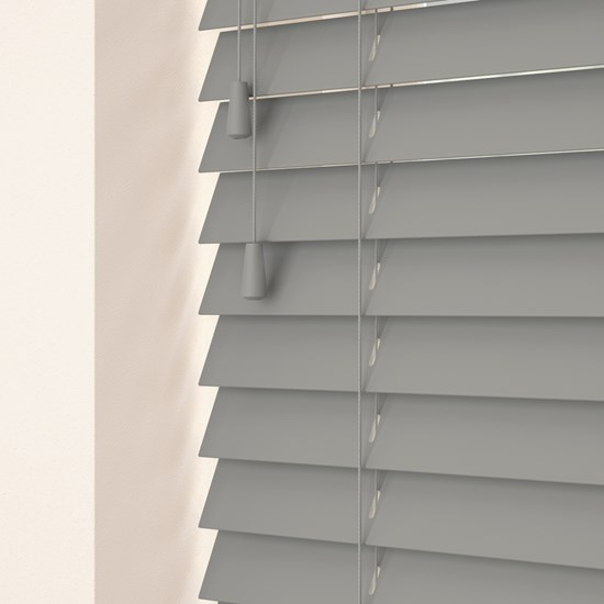 Pavilion Grey Wooden Venetian Blind