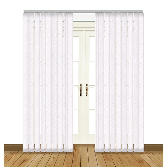 Sahara White Vertical Blind