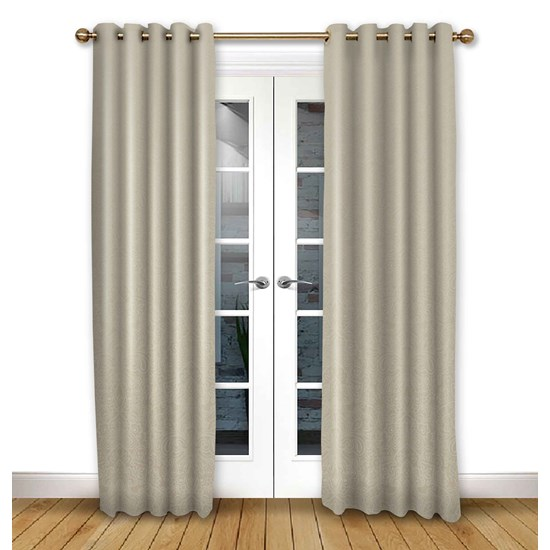 Serenity Ivory Eyelet Curtains