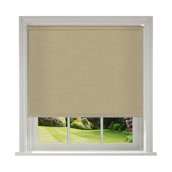 Splash Hessian Roller Blind