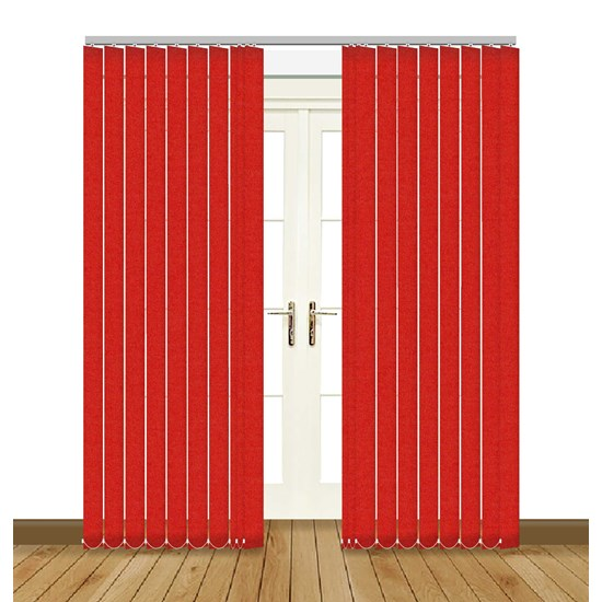 Splash Scarlet Vertical Blind