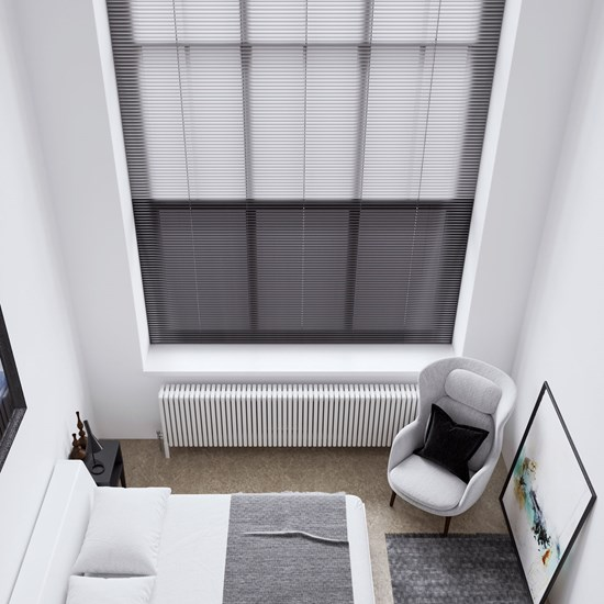 Textured Aluminium Venetian Blinds 25mm