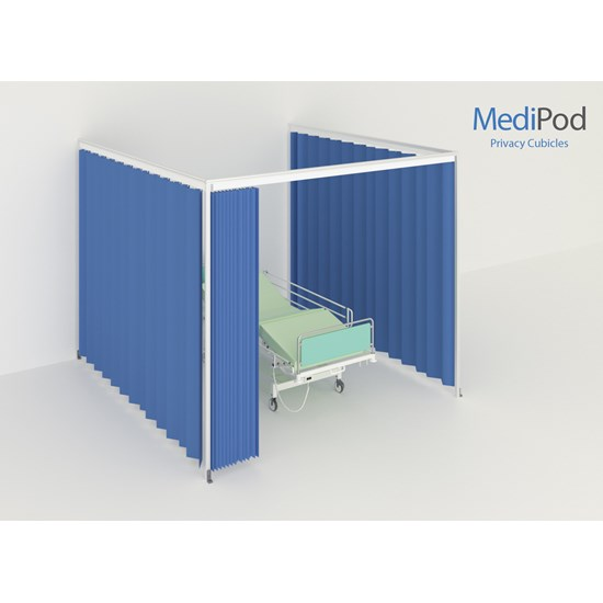 MediPod - Type 2 - Standard 3x3m Wall or Extension Kit