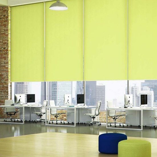 R200s Standard Roller System with Unicolour Blinds