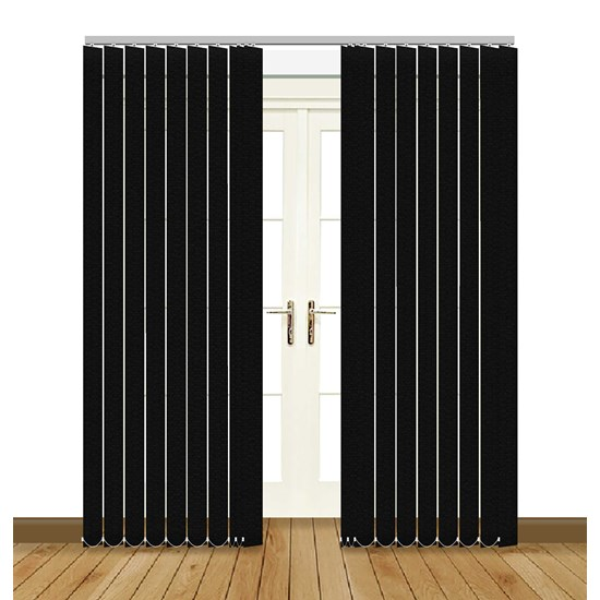 Unilux Black Vertical Blind