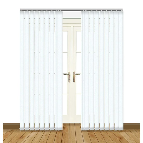 Unilux White Vertical Blind