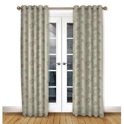 Alderney Mink Eyelet Curtains