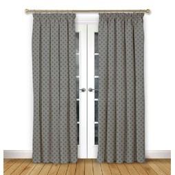 Arley Flint Pencil Pleat Curtains
