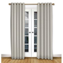 Arley Ivory Eyelet Curtains