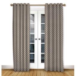 Arley Ruby Eyelet Curtains