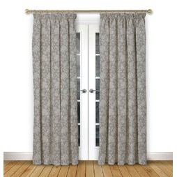 Charlbury Flint Pencil Pleat Curtains