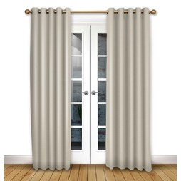Cosmos Ivory Eyelet Curtains
